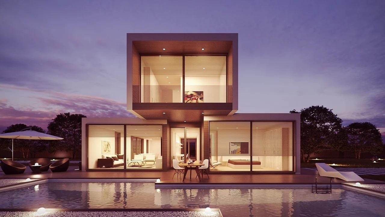 Dům u bazénu