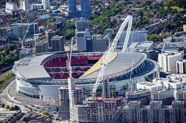 Wembley stadium v Londýně